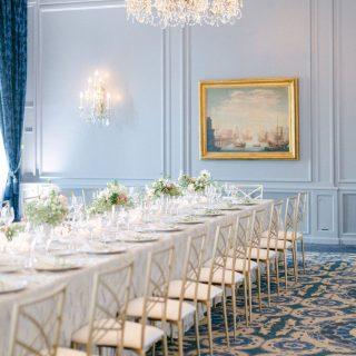 repas de mariage, table royale